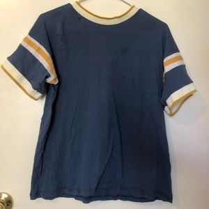 Blue shirt from Urban Outfitters